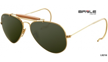 Ray Ban AVIATOR RB 3030 L0216 OUTDOORSMAN 58
