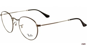 Ray Ban RX 3447V 2620 ROUND METAL 47