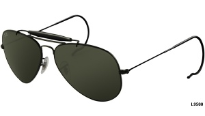 Ray Ban AVIATOR RB 3030 L9500 OUTDOORSMAN 58