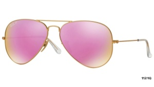 Ray Ban AVIATOR RB 3025 112/1Q POLARIZACE FLASH 58