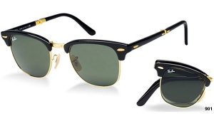 Ray Ban RB 2176 Clubmaster Folding 901