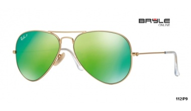 Ray Ban RB 3025 112/P9 AVIATOR FLASH POLARIZACE 58